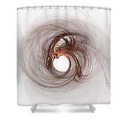 Open To Love Fine Fractalart Shower Curtain