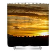 Open Your Heart Shower Curtain