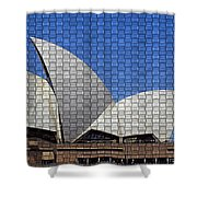 Opera House 4 Shower Curtain