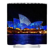 Opera House Sydney Australia Shower Curtain