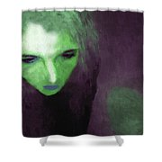Ophelia Condemned Shower Curtain