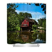 Opie's Grist Mill Shower Curtain