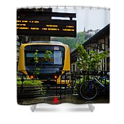 Oporto Train Station Shower Curtain