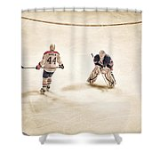 Opponents Shower Curtain