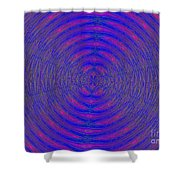 Opposing Forces Shower Curtain