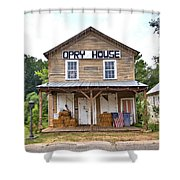 Opry House - Square Shower Curtain
