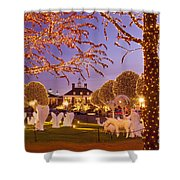 Opryland Hotel Christmas Shower Curtain