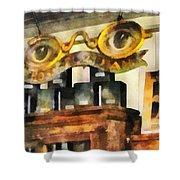 Optometrist - Spectacles Shop Shower Curtain