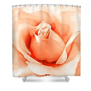 Orange Blossom Shower Curtain