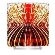 Orange Zest Shower Curtain