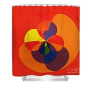 Orb 11 Shower Curtain