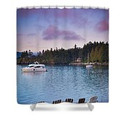 Orcas Viewpoint Shower Curtain