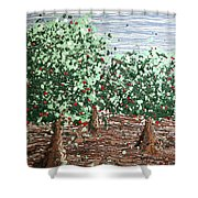 Orchard 4 Shower Curtain