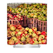 Orchard Time Shower Curtain