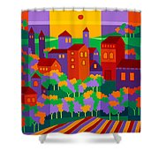 Orchard Villa Shower Curtain