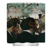Orchestra Musicians Shower Curtain