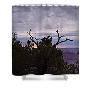 Orchestrating A Sunset At The Grand Canyon Shower Curtain