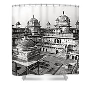 Orchha's Palace - India Shower Curtain