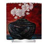 Orchids And Passion Shower Curtain