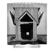 Ore Dock Marquette Michigan Shower Curtain