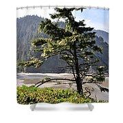 Oregon - Heceta  Shower Curtain