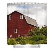 Oregon Barn Shower Curtain