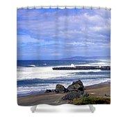 Oregon Breakers Shower Curtain