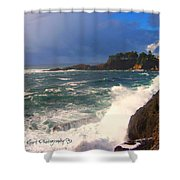 Oregon Coast 9 Shower Curtain