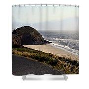 Oregon Coast And Fog Shower Curtain