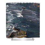 Oregon Coast And Shoreline Shower Curtain