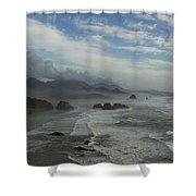 Oregon Coast Ecola 1 F Shower Curtain
