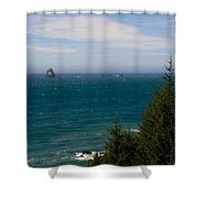 Oregon Coast II Shower Curtain