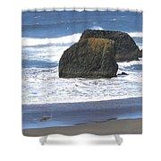 Oregon Coast Panorama Shower Curtain