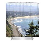 Oregon Coast View Shower Curtain