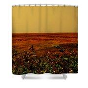 Oregon Coastline Ll Shower Curtain