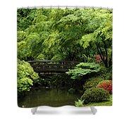 Oregon Japanese Garden  Shower Curtain