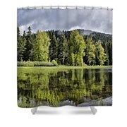 Oregon Lake Shower Curtain