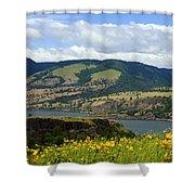 Oregon Landscape Shower Curtain
