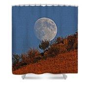Oregon Moon Shower Curtain