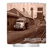 Oregon's Willamette Valley  Shower Curtain
