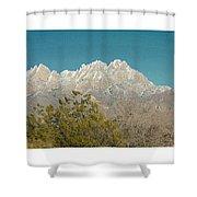 Organ Mountain Wilderness Shower Curtain