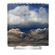 Organ Mountains New Mexico Shower Curtain