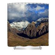 Organ Mountains Rugged Beauty Shower Curtain