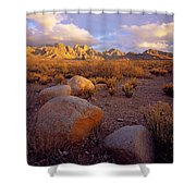 Organ Mountains Sunset Shower Curtain