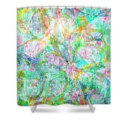 Organic Colors By Jan Marvin Shower Curtain
