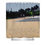Organic Material Shower Curtain