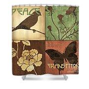 Organic Nature 1 Shower Curtain
