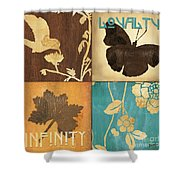 Organic Nature 3 Shower Curtain