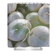 Organic Onions Shower Curtain