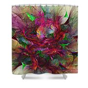Orgy Of Colors Shower Curtain